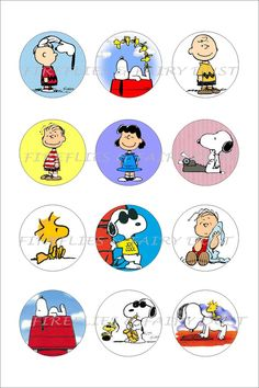Snoopy Vol 2 Digital 4x6 1 inch Collage by FirefliesFairyDust, $1.50