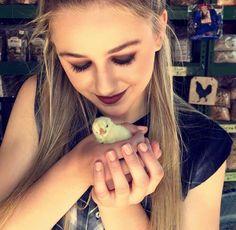 sweet chloe and a chick
