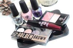 Win: W7 makeup pakketje met blush, eyeshadow palette, nagellak, mascara