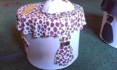 .: Costurero de manchas de leopardo.