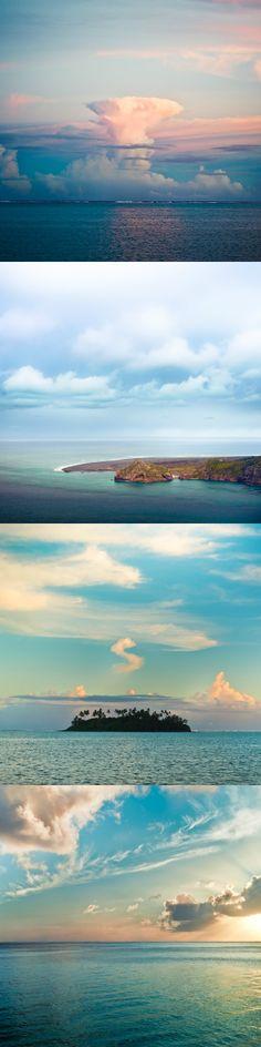 #sea #ocean #clouds sky