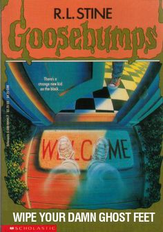 Literal GOOSEBUMPS Covers | Warped Factor - Words in the Key of Geek.