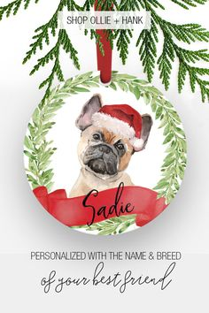 It's never too early to think about holidays gifts. Christmas Gifts For Parents, Dog Christmas Ornaments, Christmas Dog, Xmas, Christmas Stuff, Diy Dog Gifts, Dog Dad Gifts, Dog Lover Gifts, Dog Lovers