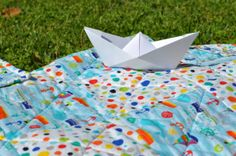 Crib size Sea of Dreams Kid Quilt for the...  by Sweet16inStitches, $45.00