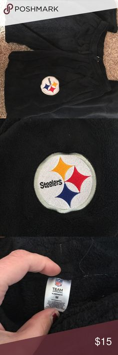 Fleece Steelers Team Pants Super soft fleece Steelers pants! Only worn a few times, too big for me! NFL Pants