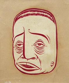 Barry McGee, Portrait, 1997