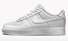 "Nike Air Force 1 ""All-White"" iD Options Available Now"