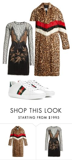"""""""Bez naslova #573"""" by lejla15 ❤ liked on Polyvore featuring MSGM, Alexander Wang and Gucci"""