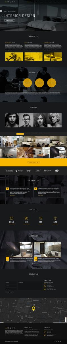 Archi has beauty design and bunch of features to make your website stand out of…