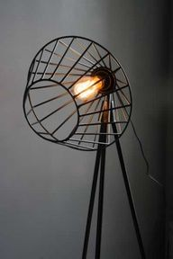 Tripod Floor Lamp - Black