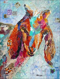 Go One Step Beyond Painting – Create a Contemporary Collage!