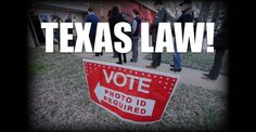 BREAKING : DOJ Just CLEARED Texas VOTER ID LAW! – TruthFeed