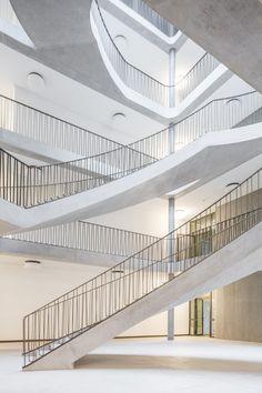 Fiechter & Salzmann Architekten - Schoolhouse, Hünenberg 2016. Photos © Andreas Buschmann, Lucas Peters.
