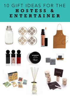 Gifts for the Hostess & Entertainer, never come to a party empty-handed