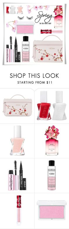 """Spring is in the air..."" by rasa-j ❤ liked on Polyvore featuring beauty, Longchamp, Essie, Marc Jacobs, Lime Crime, RMK, tarte and beautyset"