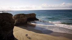 GALICIA - BEACH O ROSTRO IN FISTERRA A CORUÑA