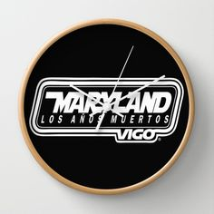 MarylandVigo Maryland - Los Años Muertos Wall Clock Maryland, Clock, Group, Music, Wall, Watch, Musica, Musik, Clocks
