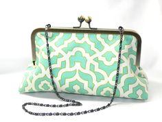 Hey, I found this really awesome Etsy listing at https://www.etsy.com/il-en/listing/455394346/clutch-seafoam-mint-aqua-and-cream