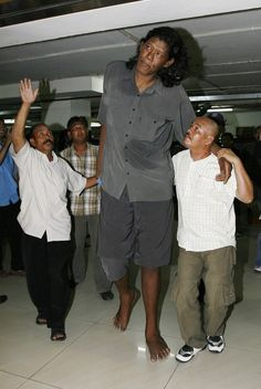 Top 10 Tallest Persons of the World