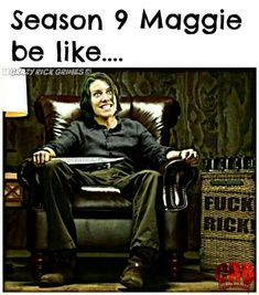 GOVERNOR MAGGIE SEASON 9 haha!