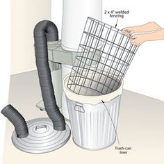 Breathe easier with these shop-tested tips for keeping your shop tidies and your air cleaner.