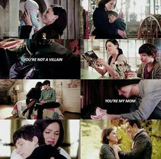 You're not a villain, you're my mom / Henry & Regina