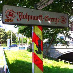 Flohmarkt am Hohen Ufer -Am Leine-Ufer in Hannover's Altstadt