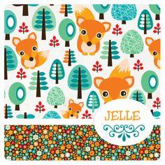 Vrolijk retro dieren vos geboortekaartje - Geboortekaartjes - Kaartje2go