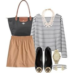 """""""Love this Jcrew skirt"""" by pretty-and-preppy on Polyvore"""