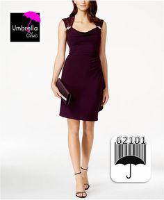 R&M Richards Petite Embellished-Yoke Draped Sheath Dress Review Dresses, Sheath Dress, Dresses Online, Dresses For Work, Chic, Shopping, Black, Women, Products