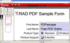 PDFescape, edita archivos PDF desde Chrome