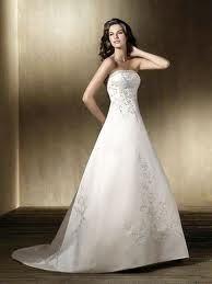 a line wedding dresses - Google Search