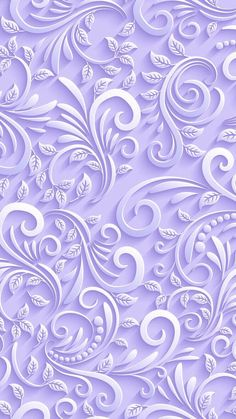 Lilac coloured textured swirls with leaves. See related pins for similar ones. Flower Phone Wallpaper, Purple Wallpaper, Butterfly Wallpaper, Trendy Wallpaper, Cellphone Wallpaper, Screen Wallpaper, Mobile Wallpaper, Cute Wallpapers, Wallpaper Backgrounds
