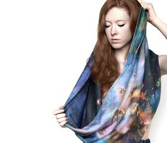 Space Inspired Scarves