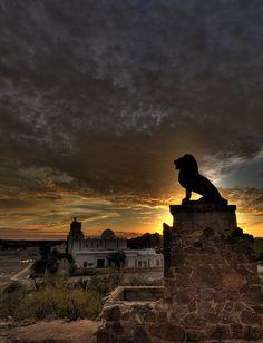 On the property of the San Xavier Mission, Tucson, AZ