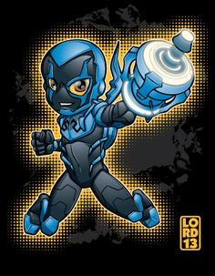 Young Justice Invasion- Blue Beetle by lordmesa.deviantart.com on @deviantART