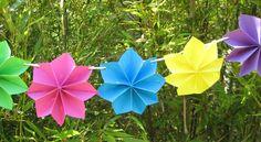 Une décoration à suspendre dans le jardin. La fête sera belle !