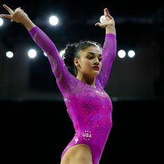 Buzzing: Laurie Hernandez: Why the 16-Year-Old Latina Gymnast May Be Rio's…