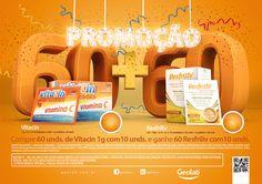 Promoção 60 + 60 - Vitacin e Resfriliv on Behance
