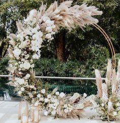Modern Wedding Backdrop - - - Wedding Reception On A Budget - Burgundy Wedding Boho - Arco Floral, Floral Arch, Wedding Ceremony Arch, Wedding Backdrops, Reception, Fall Wedding Arches, Wedding Ceremony Decorations, Spring Wedding, Wedding Backdrop Design