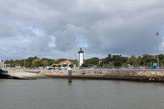 Petite visite à Port Bloc, à côté du fort du Verdon, point de départ et d'arrivée des ferries qui viennent d'en face, c'est à dire Royan
