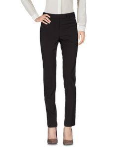A.B. Women's Casual pants Dark brown 2 US