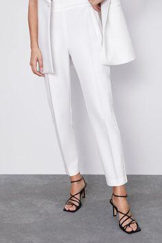 Bota Branca Zara | Bota Feminina Zara Usado 27547570 | enjoei