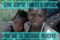 Orphans & Adoption: What Can You Do?