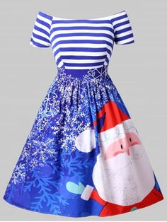 Christmas Plus Size Printed Fit and Flare Dress- They are beautiful, lovable and affordable. You deserve it! Christmas Dress For Teens, Vintage Christmas Dress, Christmas Outfits, Christmas Gifts, Plus Size Vintage Dresses, Plus Size Dresses, Plus Size Outfits, Dress Vintage, Dresses For Teens