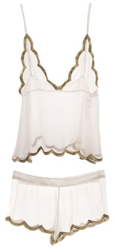 {just dainty little girly things that make me forget that I slam chipotle on the daily} Ell & Cee's Luxe Gold Camisole & Luxe Gold Short