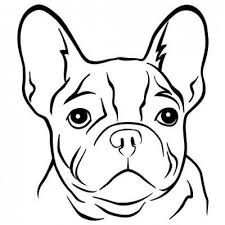 bulldogge französisch - Google-Suche Painting For Kids, Painting & Drawing, French Bulldog Drawing, Tribal Animals, Shadow Art, Mandala Dots, French Bulldog Puppies, Dog Paws, Animals And Pets
