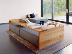 Sofá tapizado SF02 KASHAN Colección Kashan by e15 | diseño Philipp Mainzer