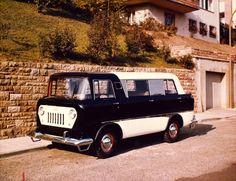 OG   1958 Jeep Forward Control FC Passenger Van   Only 3 prototypes were built by Reutter in Stuttgart.