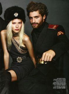 Sasha Luss by Mariano Vivanco for Vogue Russia November 2013